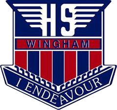 Wingham High School logo